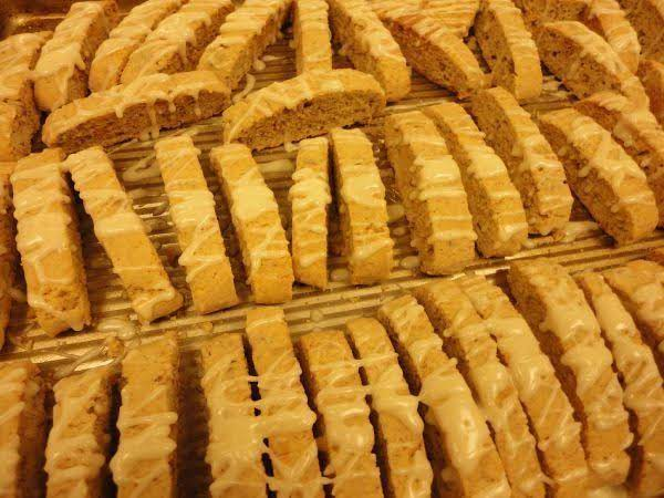 Warm And Cozy Eggnog Biscotti For Your Cup Of Tea Or Coffee!