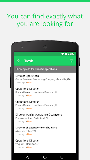 Find job offers - Trovit Jobs 4.47.5 screenshots 2