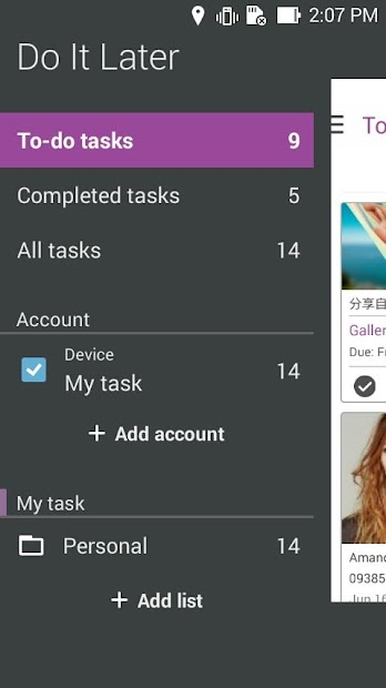 Do It Later: Tasks & To-Dos screenshot 2