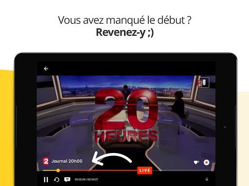 Molotov - TV en direct et en replay  screenshots 14