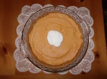 Super Easy No-Bake Pumpkin Cheesecake