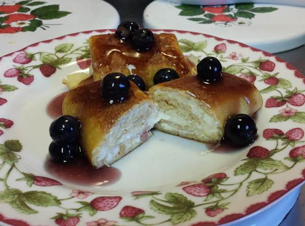 Blintzes With Orange Cream Filling Recipe