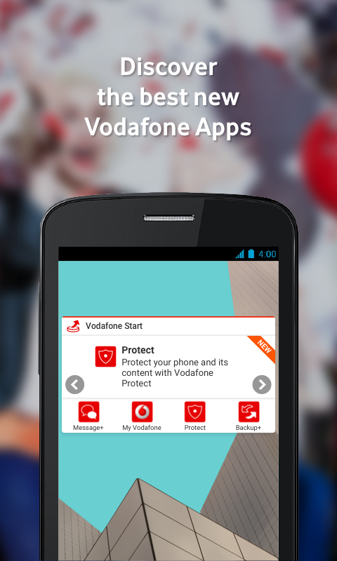 Vodafone Start- screenshot