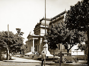 Photo: Mastil en Avda 7 y 51 construido en 1931