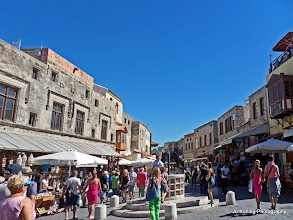 Photo: Rhodos oude stad / Rhodes old city.  www.loki-travels.eu