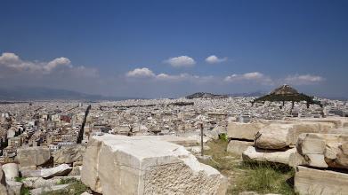 Photo: Athens is huge.