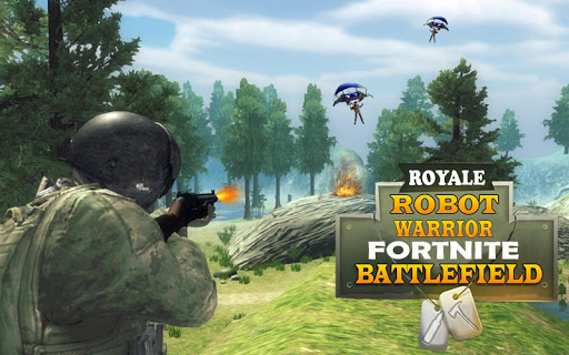 Royale Robot Warrior Fortnite Battlefield for PC