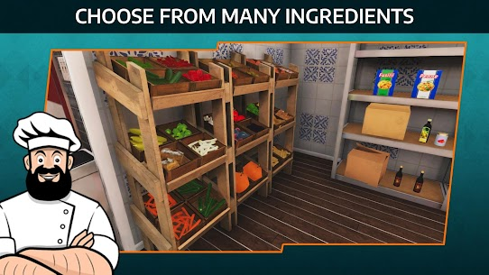 Cooking Simulator Mobile Mod Apk: Kitchen (Unlimited Diamond) 1.54 4