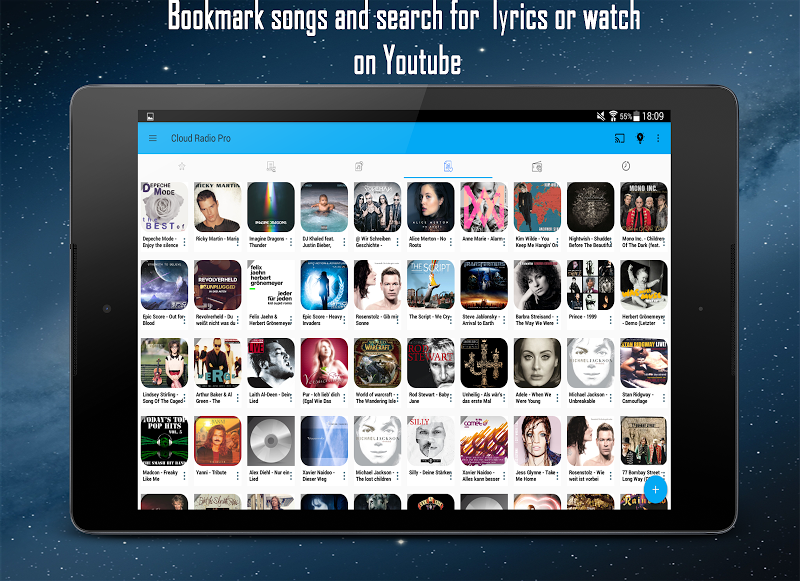 Cloud Radio Pro - Record , Lyrics & Music Screenshot 13