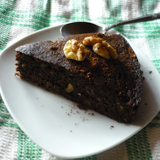 Banana and Carob Cake