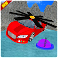 Flying Car Rescue Game 3D