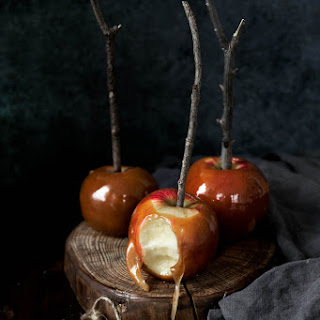 Brown Butter Bourbon Caramel Apples