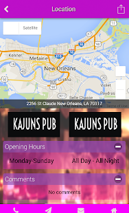 Kajuns Pub- screenshot thumbnail