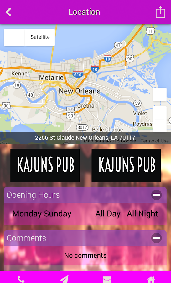 Kajuns Pub- screenshot