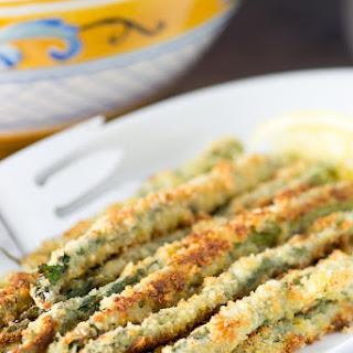 Panko Parmesan Crusted Asparagus