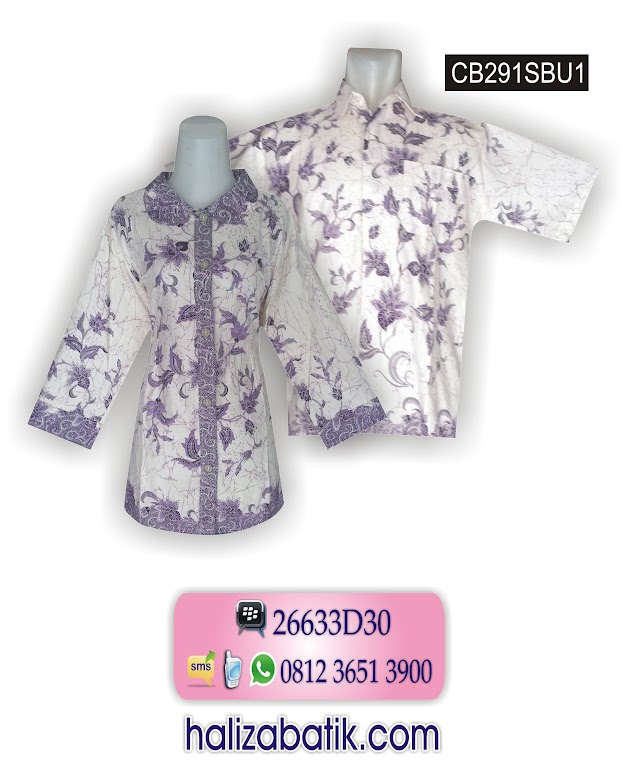 Toko Baju Grosir, Baju Batik Kantor, Model Busana Batik