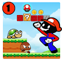 Mr Stick's World : Super Stickman Adventure icon