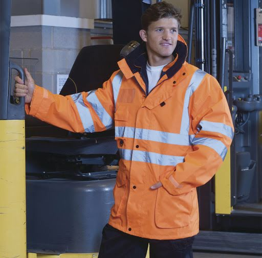 Multifunction Hi-Vis Road Safety Jacket