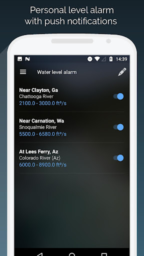 RiverApp - River flows  screenshots 4