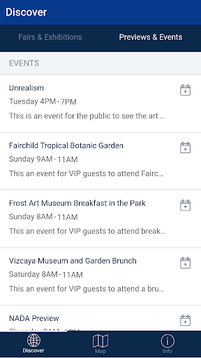 Xipsy Art Fair Guide Screenshot
