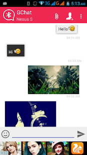 Bluetooth Chat - GChat- screenshot thumbnail