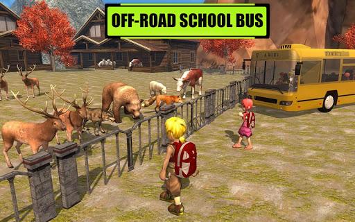 Off-Road School Bus Trip 3d