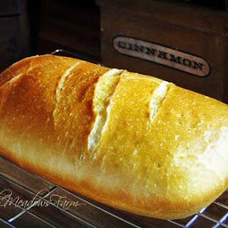 Clay Pot Homebaked Bread.