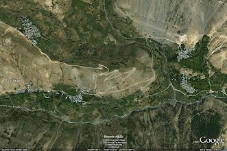 Photo: YEDİGÖL - GAHMUT, HALUNUS, KALGUNS (3910 m. yüksekten)