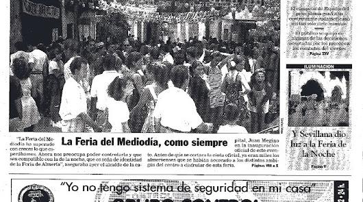 1997: La Feria de Mediodía se hizo pronto grande