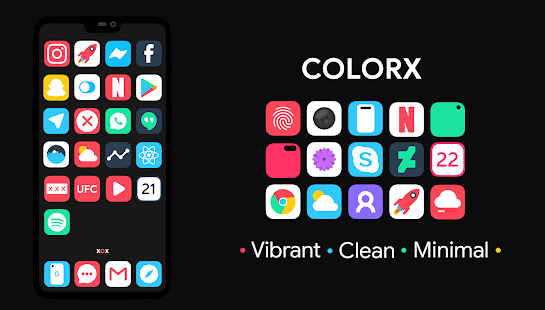 ColorX Icon Pack Screenshot