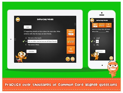 iTooch 1st Grade Language Arts- screenshot thumbnail
