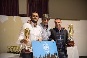 Óscar Morenza Pérez  y Luigi Bermejo Lucas, Campeones del III Torneo de Parellas de Ourense