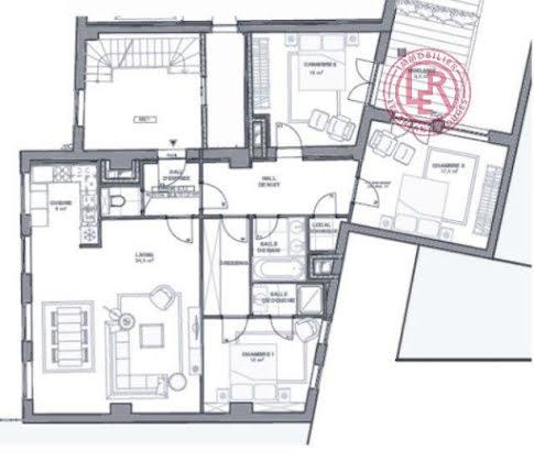 Vente appartement 4 pièces 138 m2