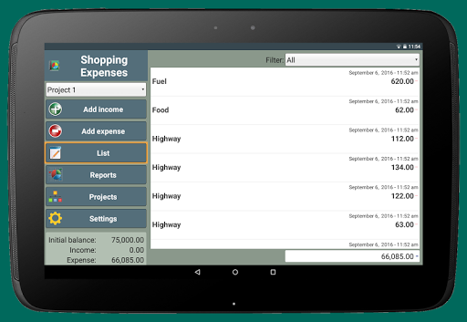 Shopping Expenses screenshot 10