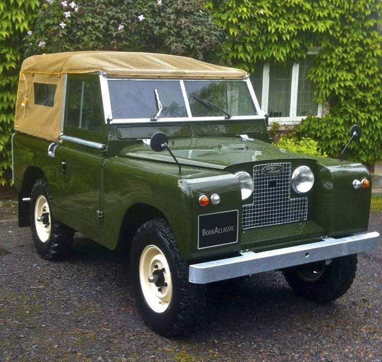 Landrover Series 2 Hire London