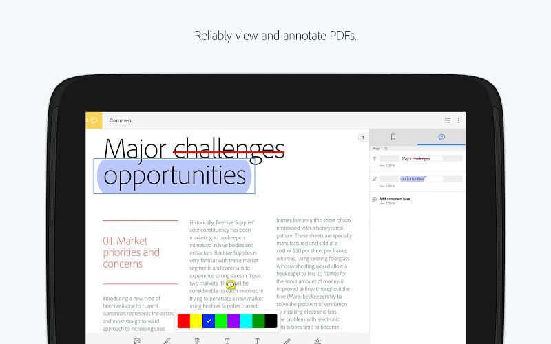 Adobe Acrobat Reader Screenshot 7