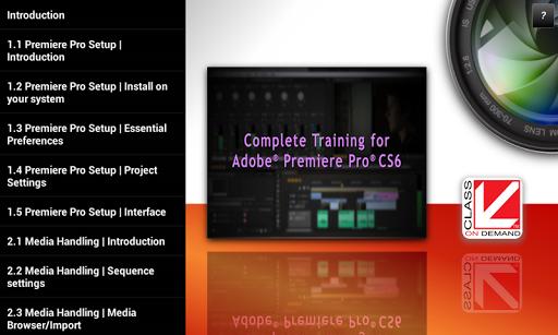 Training Premiere Pro CS6 & CC screenshot 16