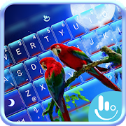 Lovely Parrots Keyboard Theme