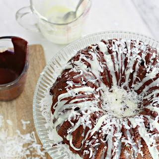Mounds Bundt Poke Cake.