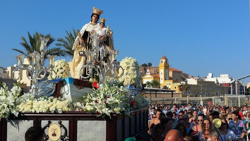 ¿Cuál será la primera procesión en Almería?