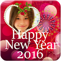 New Year Photo Frames 2016 HD icon