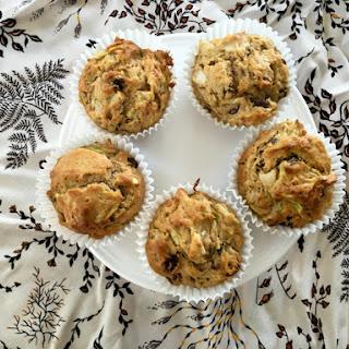 Pear, Sultana and Zucchini muffins.