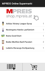 MPREIS Online Supermarkt screenshot 0