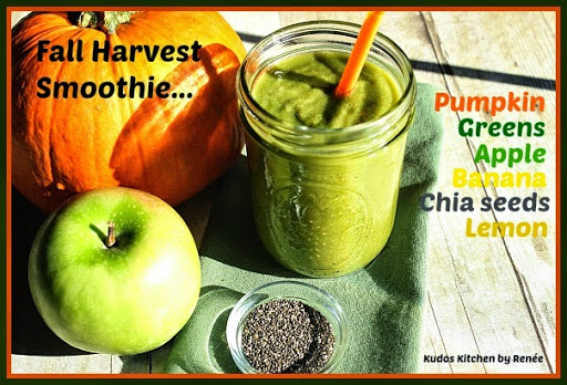 Super Healthy Fall Harvest Smoothie