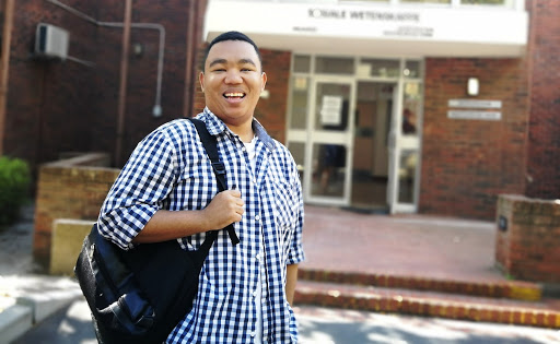 Cancer couldn't stop UWC social work graduate from reaching his goals