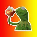 Kermit the Frog Stickers - WAStickerApps icon