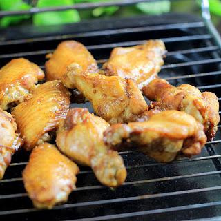 Honey Garlic Chicken Wings–Glazed Version.