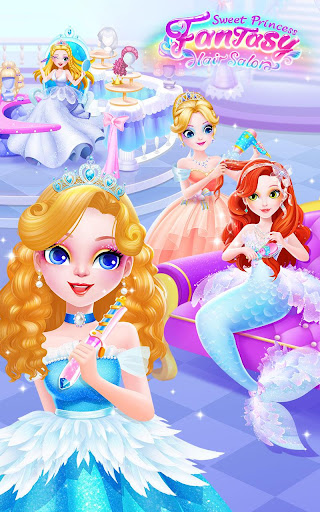 Sweet Princess Fantasy Hair Salon 1.0.6 screenshots 1