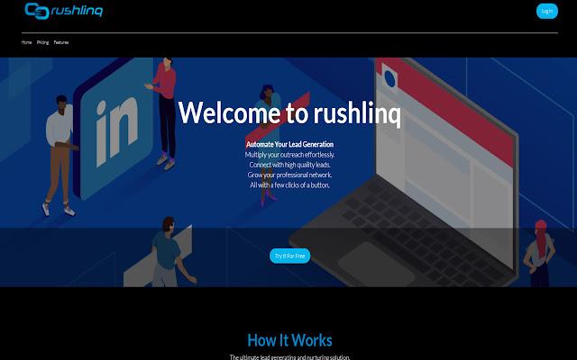 RushLinq | LinkedIn Outreach Platform
