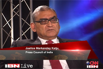 Photo: Media needs independent regulation: Markandey Katju http://t.in.com/9r3t